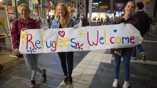 Über Flüchtlinge sprechen – Warme Welt, kalteWelt