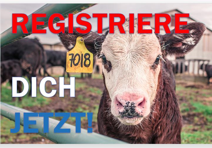 Es darf keine Tiere geben, die nicht registriertsind!