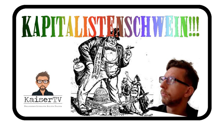 Du böses Kapitalistenschwein!