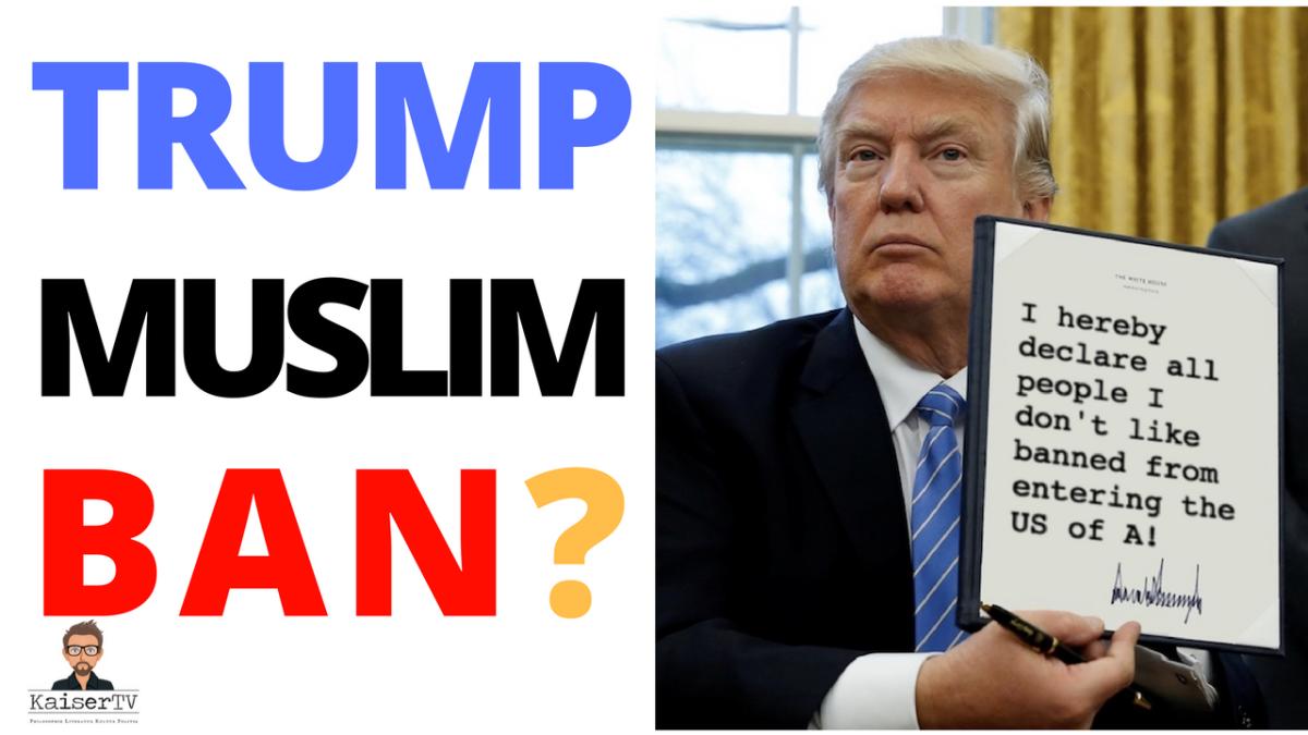 Trumps #muslimban und der eigentliche Skandal