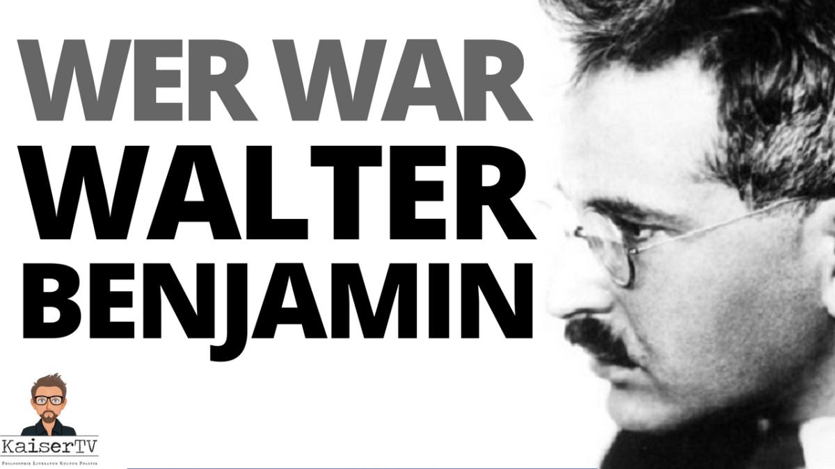Walter Benjamin: Leben eines Unvollendeten. – Lorenz Jäger imGespräch