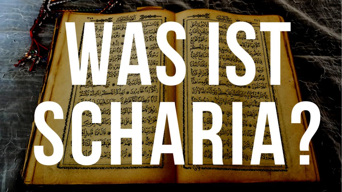 Was ist die Scharia? – Lutz Jäkel imGespräch
