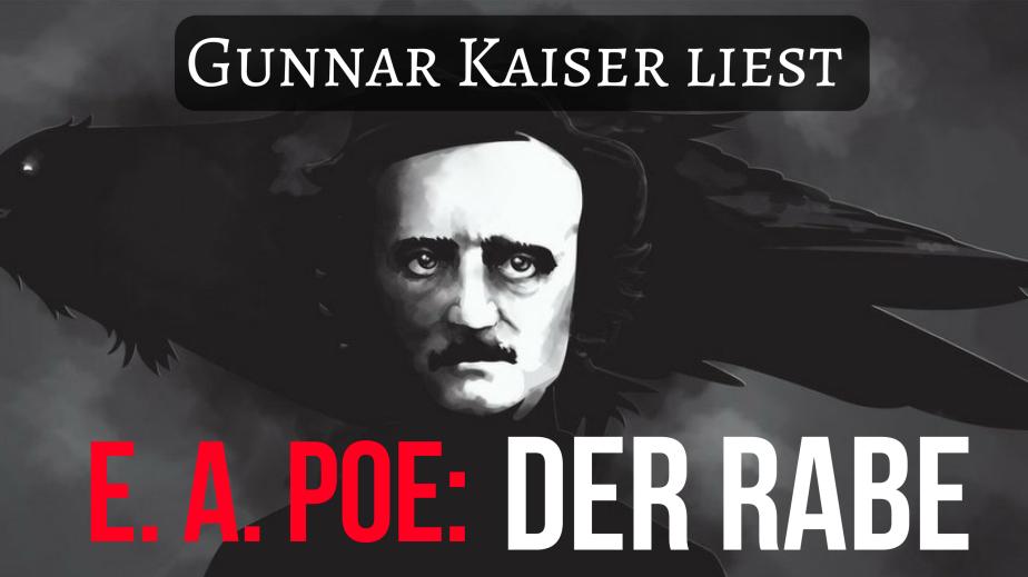 """Heute um 20:30 Uhr: Gunnar Kaiser liest """"Der Rabe"""" von Edgar AllanPoe"""
