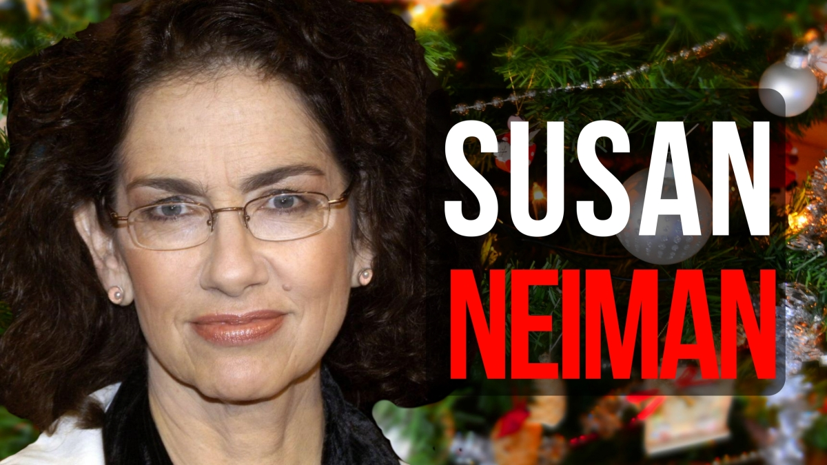 Heute live um 20 Uhr: Susan Neiman (KaiserTV-Adventskalender)