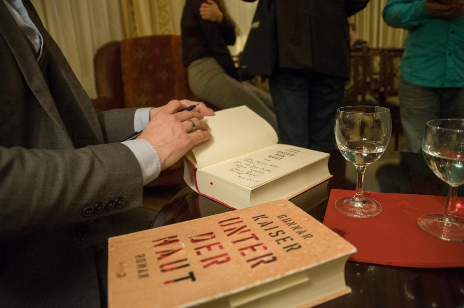 Unter der Haut – Lesung in Berlin(Fotos)