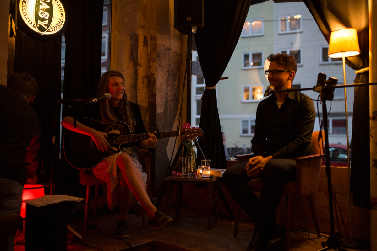 Fotos von der Lesung in Münster