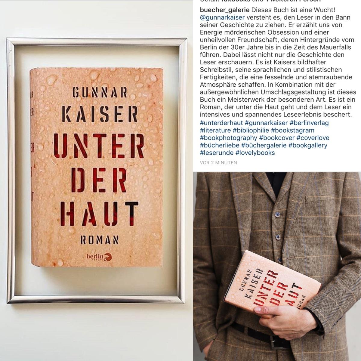 """Bücher Galerie über """"Unter derHaut"""""""
