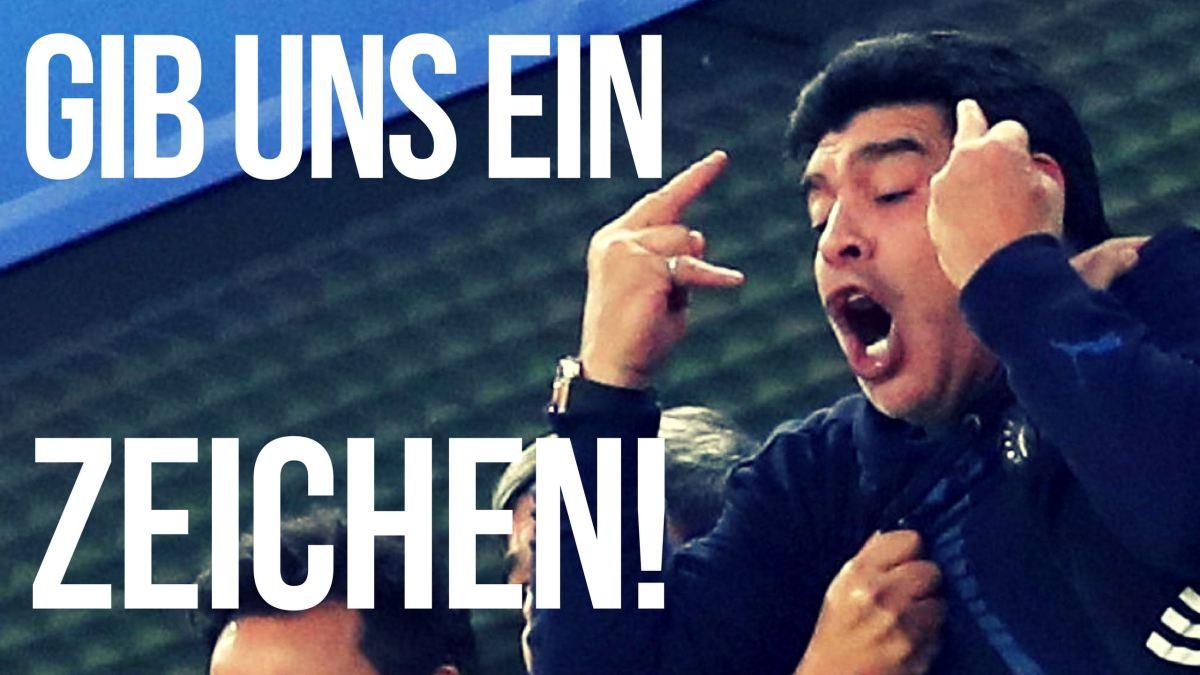 Özil, Maradona und der Stinkefinger(VIDEO)
