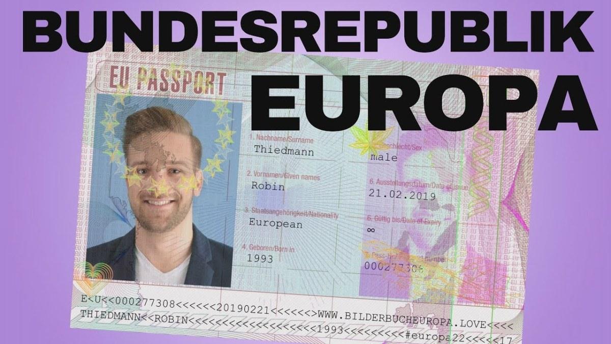 Bundesrepublik Europa? – Robin Thiedmann imGespräch